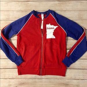 Alternative Apparel Minnesota Zip Up Sweatshirt